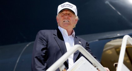 La popularité de Donald Trump est à la...