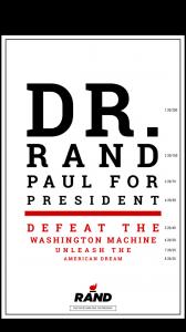 Le sénateur républicain du Kentucky Rand Paul, qui prononcé les mots cités...