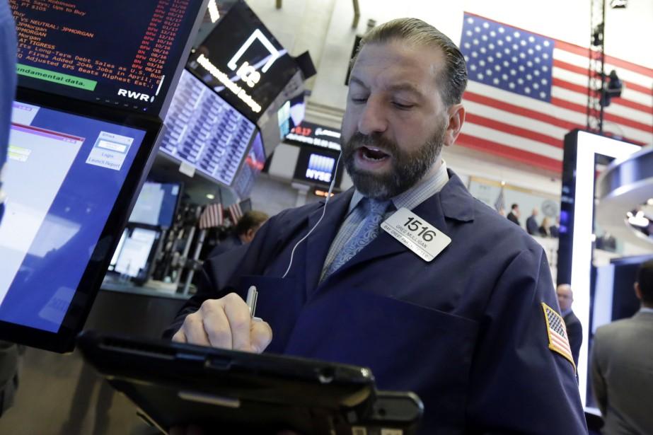 Sur la semaine, le Dow Jones a perdu... (PHOTO ASSOCIATED PRESS)