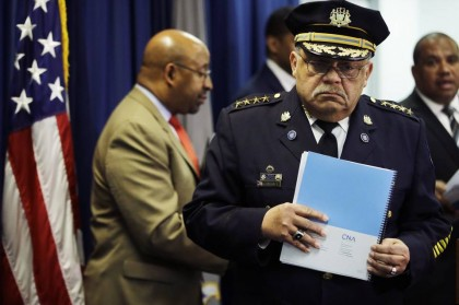 Le chef de police de Philadelphie Charles Ramsey...
