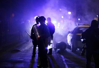 La violence a éclaté à Ferguson en novembre...