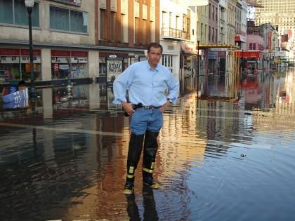 Brian Williams s\'est retrouvé à La Nouvelle-Orléans après...
