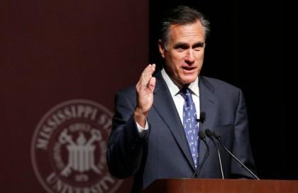 Mitt Romney a prononcé hier soir un discours...