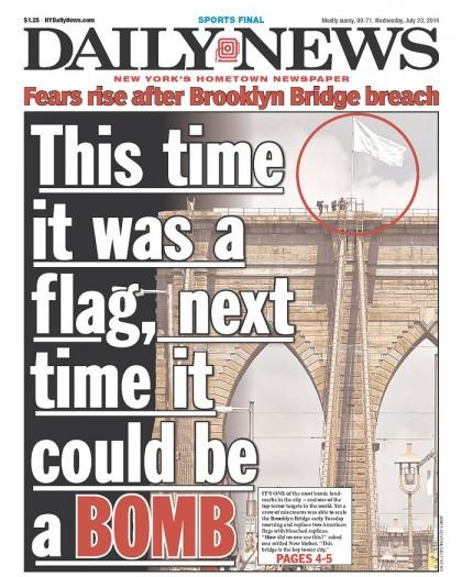 Contrairement à son principal concurrent, le New York Post, le...