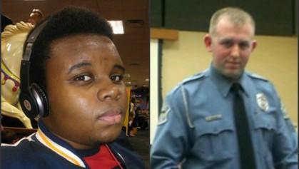 Michael Brown et Darren Wilson, le policier qui...