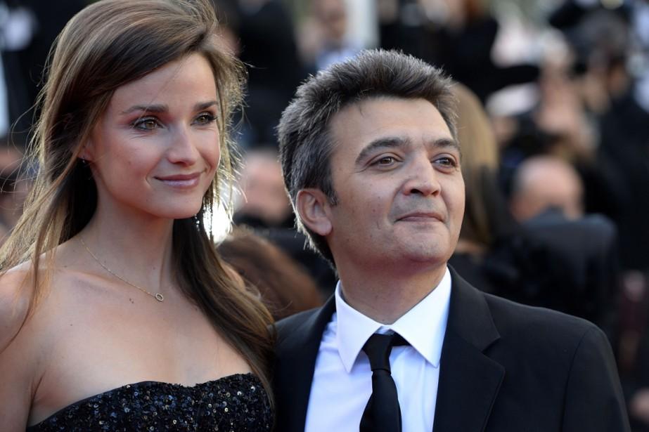 Thomas Langmann et sa compagne Céline Bosquet lors... (Photo archives AFP)