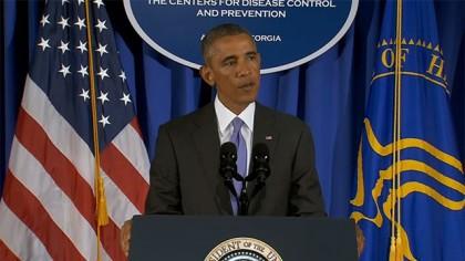 Barack Obama lors de sa visite récente aux...