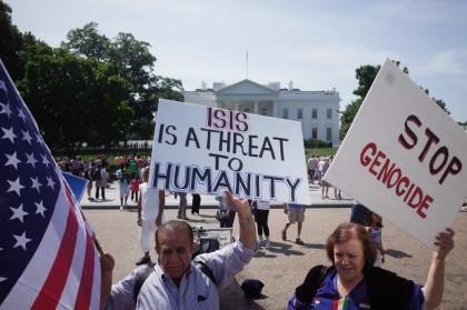 Les États-Unis ont déjà recouru à des frappes aériennes en Irak contre l'État...