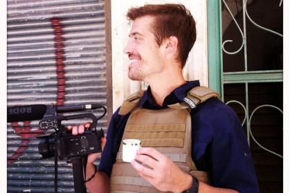 Le journaliste James Foley en Syrie en 2012....