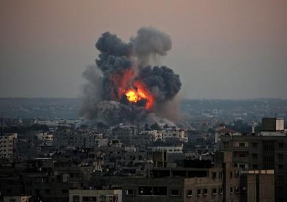 La bande de Gaza a été la cible...