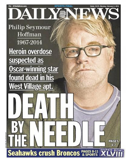 La fin du monde? En fait, le Daily News de New York fait allusion à...
