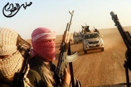Photo tirée d'une vidéo diffusée par l'État islamique...