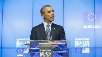 Barack Obama a pris la parole aujourd\'hui lors...