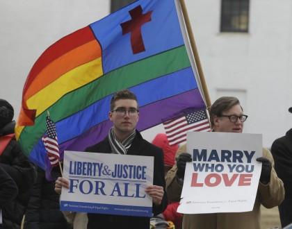 Les militants du mariage gai ont remporté une...
