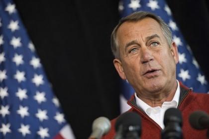 John Boehner a présenté les grands principes d\'une...