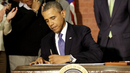 Barack Obama entend prendre des mesures administratives face...