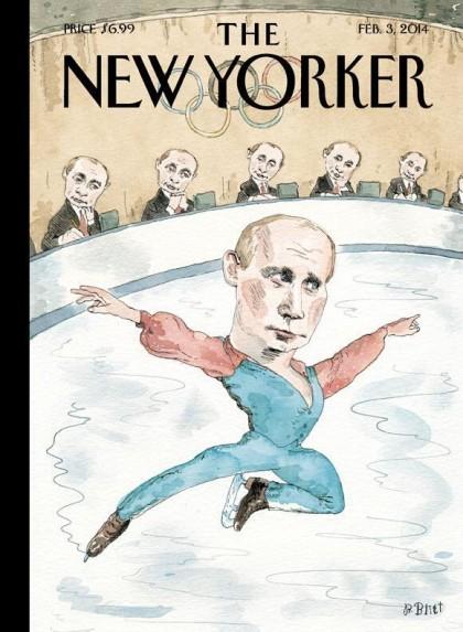 Les Jeux de Sotchi, vus par le New Yorker :