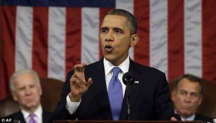 Barack Obama prononcera mardi prochain le traditionnel discours...