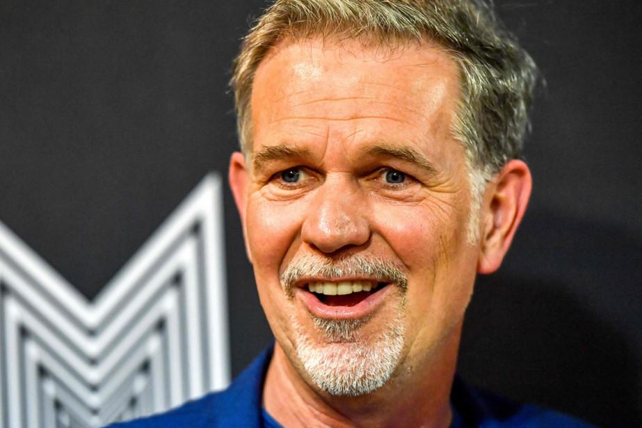 Reed Hastings, fondateur et PDG de Netflix, a... (Photo AFP)