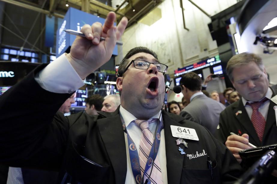 Son indice vedette, le Dow Jones Industrial Average,... (Photo Richard Drew, Associated Press)