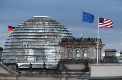 L'ambassade américaine à Berlin, d'où était espionnée Angela...