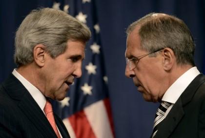 John Kerry et Sergueï Lavrov ont conclu une...