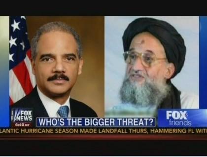 Eric Holder, ministre de la Justice américain, ou Ayman al-Zawahiri, successeur...