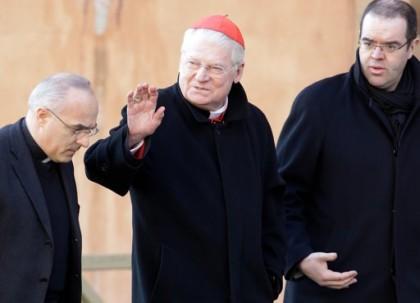 Le cardinal Angelo Scola, archevêque de Milan, est...