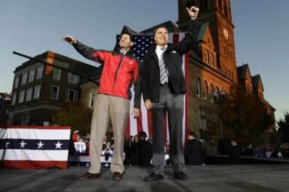 Mitt Romney et Paul Ryan ont fait campagne...