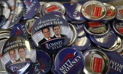 Mitt Romney et Paul Ryan : les candidats...