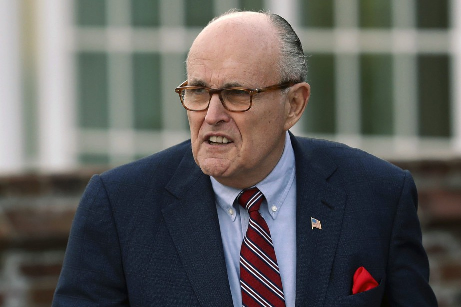 Mercredi, Rudy Giuliani (photo) a lâché une bombe,... (Photo Carolyn Kaster, archives Associated Press)