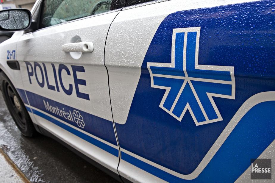 La collision est survenue à 10h30. Le policier... (Photo Patrick Sanfaçon, archives La Presse)