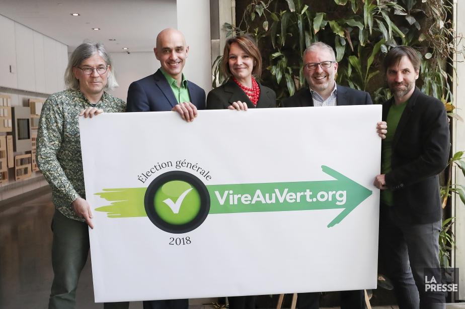 Jacques Lebleu de Mobilisation Environnement Ahuntsic-Cartierville, Sidney Ribaux... (Photo Robert Skinner, La Presse)