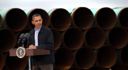 Barack Obama s\'est rendu en Oklahoma pour répondre...