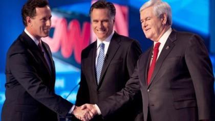 C\'est mathématique : Rick Santorum et Newt Gingrich...