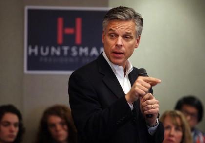 Jon Huntsman joue son va-tout au New Hampshire....