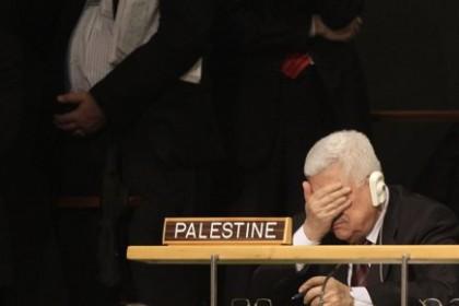 Le président palestinien Mahmoud Abbas n\'a pas semblé...
