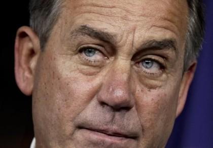 Dure journée pour John Boehner. (Photo AP)...