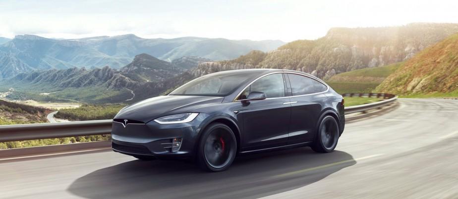 Sa voiture de rêve -  Un Modèle X, de Tesla.   7 mai 2018