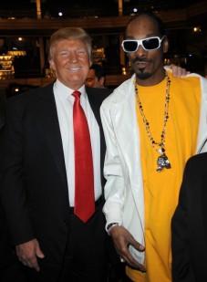 Donald Trump et un de ses bons amis...