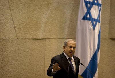 Dans un discours devant la Knesset, le premier ministre israélien Benyamin...