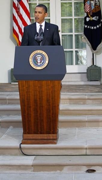 Barack Obama se réjouissait du passage de la réforme de Wall Street au Sénat...