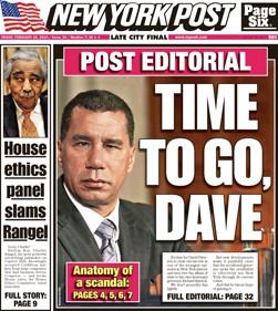 Le Daily News et le New York Post publient aujourd'hui des...