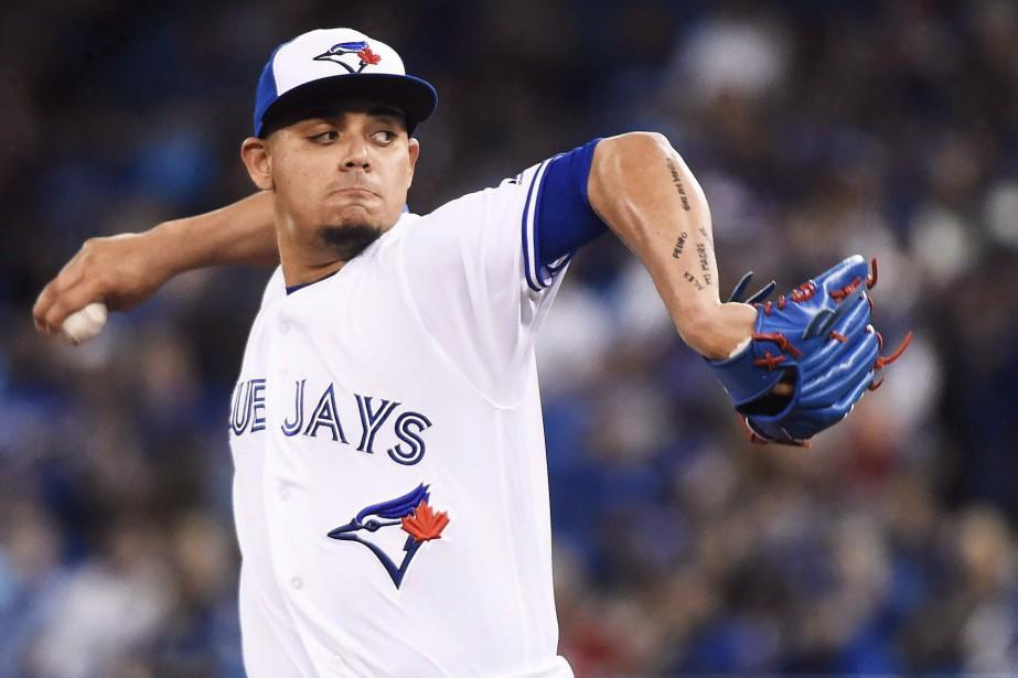 Le releveur des Blue Jays de Toronto Roberto... (Photo Nathan Denette, PC)