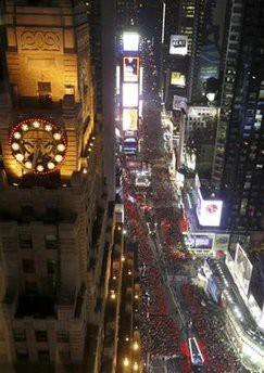 Le maire de New York Michael Bloomberg a invité Bill et Hillary Clinton à...