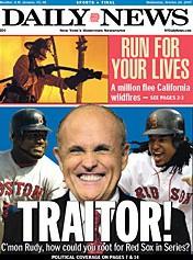 Jusqu'où ira Rudy Giuliani pour courtiser les électeurs républicains? Jusqu'à...