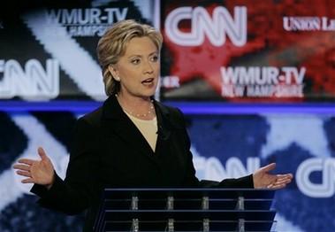Hillary Clinton a prouvé ce soir au New Hampshirequ'une femme peut avoir le...
