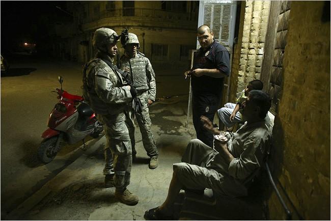 Le sergent David Safstrom en est à son troisième séjour en Irak. Il dit avoir...