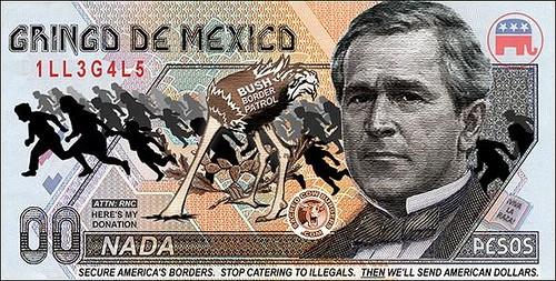George W. Bush a soulevé la colère de plusieursconservateursen saluant...