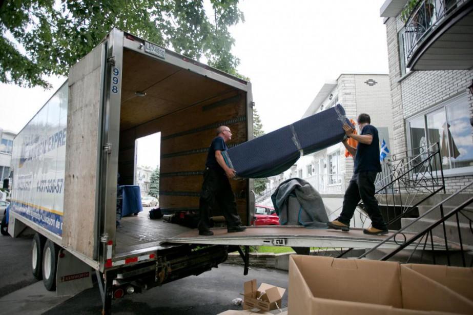 Il est important de s'assurer que son déménageur... (PHOTO DAVID BOILY, archives LA PRESSE)